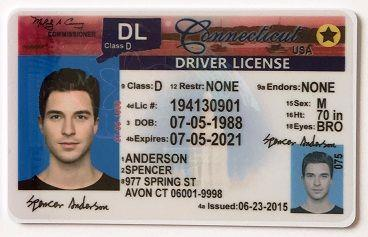 Scannable fake id